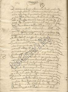 Aforamiento, venta, del Monasterio de Poio a Juan de Colón y Constanza de la finca de Andurique